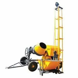 Mini Concrete Mixer With Lift Half Bag