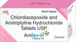 Amitriptyline 5 Mg With Chlordiazepoxide 12.5 Mg Tablets (Amilev-H)