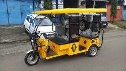 4 Seater Battery Operated E Rickshaw