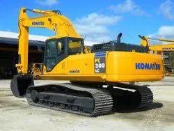 KOMATSU 300 Crawler Excavator Rental Service