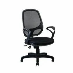 Fabric GLD-EX-20-05 Workstation Chair, For Office Chairs, Black