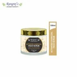 Rangrej's Aromatherapy Activate Charcoal Face Scrub For Radiant Glowing Skin 100ml