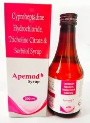 CYPROHEPTADINE TRICHOLINE SYP (Apemod Syrup)