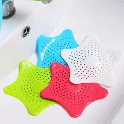 Silicone Star Shaped Sink Filter Bathroom Hair Catcher Drain Strainers Cover Trap Basin Sink Strainer Kitchen Sink Strainer Kitchen Sink Basket Mesh Sink Strainer Kitchen Drain Covers Homeglare E Commerce Private Limited