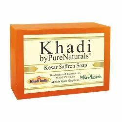 byPureNaturals Khadi Kesar/Saffron Soap- 125gm