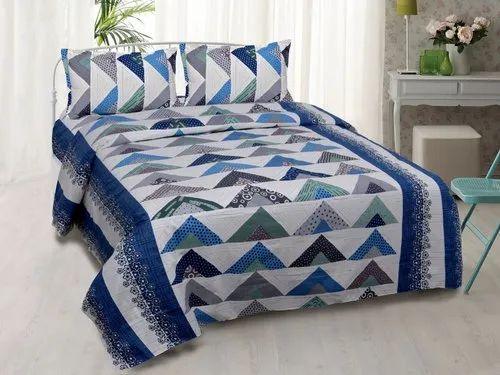 Cotton Double Bedsheets