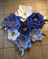 Giant Paper Flowers For Stage Decoration