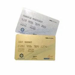 Rectangular Double Sided Embossed PVC ATM Card, Embossing, Size: 3.370 X 2.125 Inch