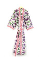 Ladies Designer Printed Kimono Dress