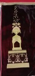 Electric Machine Georgette Kali Work Embroidery Service, For Delicate Designing