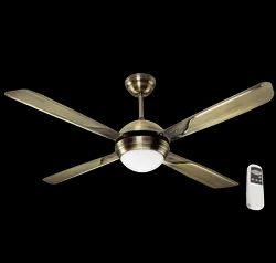 Avion Antique Brass Ceiling Fan