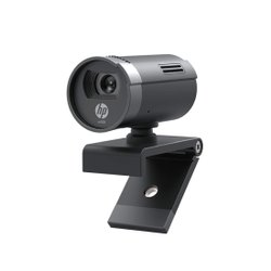 HP w100 Webcam 480p/30 Fps Webcam, Built-in Mic, Wide-Angle View for Skype, Zoom, Microsoft Teams