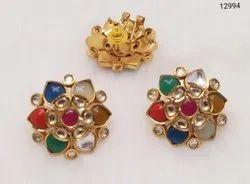 Jadau Kundan Earrings For Women