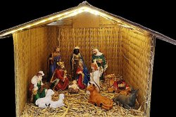 Christmas Crib Set