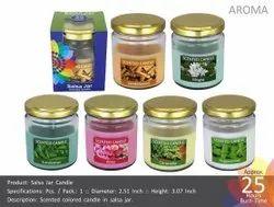 Salsa Jar Candle
