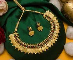 Golden Brass Necklace, Festivals