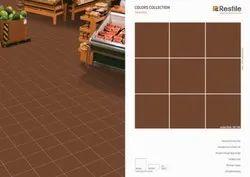 Porcelain Matt Restile Ceramic Tiles, Size: 60 * 60 In Cm, Thickness: 5-10 Mm