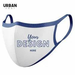 Custom Logo OEM Dust Face Mask Cycling Fashion Sports Blank White Sublimation Print