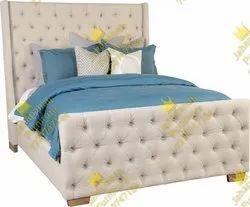 Fancy Wooden Single Bed