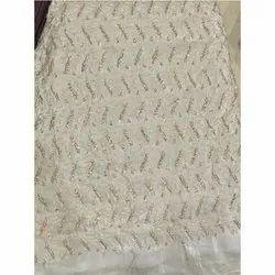 36 Inch Lakhnavi Silk Fabric, GSM: 60 Gsm