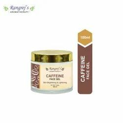 Rangrej''s Aromatherapy Caffeine Face Gel For Skin Lighten/Brighten/Glowing/Moisturizing Skin