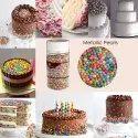 Cake Decorating Sprinkle Metallic Pearls