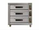 Electric Bjy-g180-3bd Berjaya Gas Heated Deck Oven