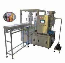 Juice Spout Pouch Filling Machine