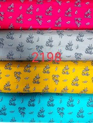 For Textile Multicolor 2198 Rayon Printed Fabric, Weight: 17 Kg, Width: 56