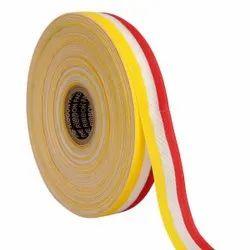 Gross Grain Medallion - Yellow, White, Red Ribbons 25mm/1''inch Gross Grain Ribbon 20mtr Length