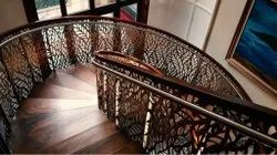 Laser Cutting Staircase Railing, For Home