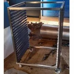 Stainless Steel Table Frame, Grade Of Material: SS304