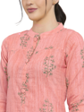 Women Printed Straight Cotton Kurta
