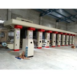 8 Color Rotogravure Printing Machine