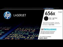 HP 656X High Yield Black Original LaserJet Toner Cartridge