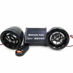 Plastic Black Bluetooth MP3 Player for 2 Wheelers, Memory Size: Unlimited
