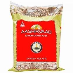 Aashirvaad Atta, Packaging Size: 5 Kg,10 Kg