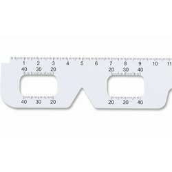 ASF Straight Edge PD Ruler Pupillary Distance Ruler PD Scale