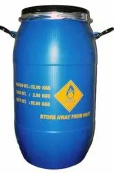 Blue UN Approved HDPE Drum, For Packaging Industry, Capacity: 50 Kg(Net Weight)