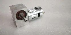 30W Facemount Micro DC Worm Gear Motor, Voltage: 12V, 100 Rpm