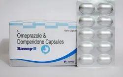 Omeprazole 20 Domperidone 10 Cap ( Ricomp D Capsule)