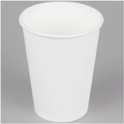 Plain White Disposable Paper Glass, Paper GSM: 160 Gsm, Packet Size: 80 Pieces in A Packet