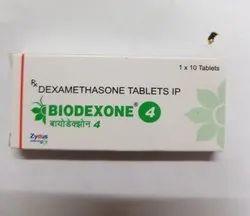 Biodexone Dexamethasone 4 Mg Tab, 1x10 Tablets, Prescription