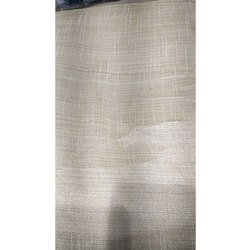 Polyester Casual Wear Poly Silk Plain Fabric, For Clothing, GSM-100