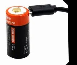 CR123 Rechargeable Battery