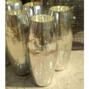 Oval Glass Vase