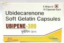 UBIPENE-300 (Ubidecarenone Soft Gelatin Capsules), 5 Strips Of 10 Capsules Each, Prescription