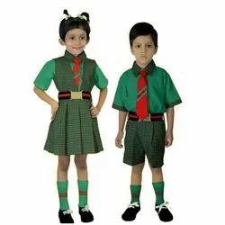 Cotton Preschool Uniform, Size: 20-26