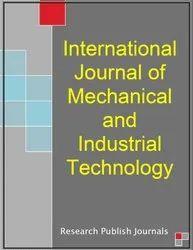 English International Journal of Mechanical and Industrial Technology (IJMIT)