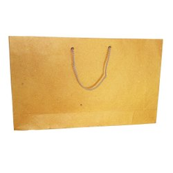 Brown Fancy Handmade Paper Bags, For Shopping, Capacity: 2kg
